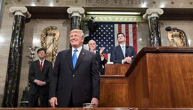 State of the Union 2018 (Official White House Photo by Shealah Craighead)