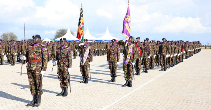 Kenya Defence Forces at Modika Barracks Garissa County