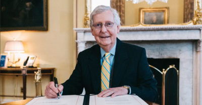 Sen. Mitch McConnell wants $1,200 for singles and $2,400 for couples in CCP Virus stimulus plan