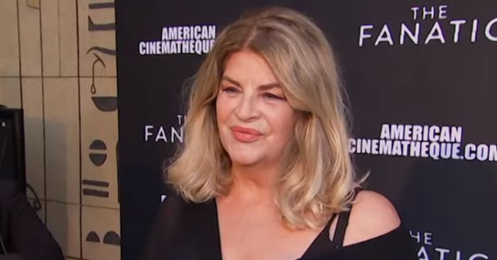 Actress Kirstie Alley thanks President Trump for his efforts against the CCP virus, and is attacked by leftists