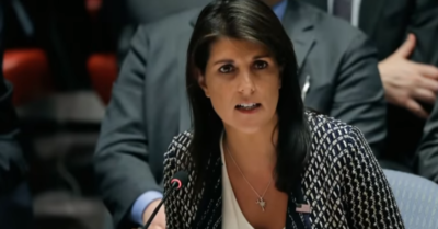 Nikki Haley resigns from the Boeing board in solidarity with millions of companies