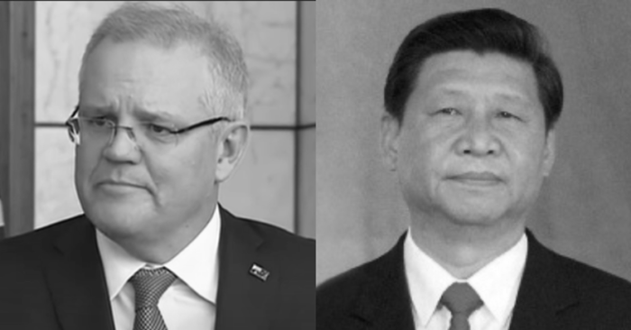 """Australia questions Chinese regime for """"undermining democracy and creating fear and division"""""""