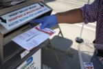 Ballot box burned in Los Angeles and controversy over postal vote revived