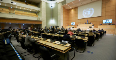 UN discusses possible new US arms embargo on Iran
