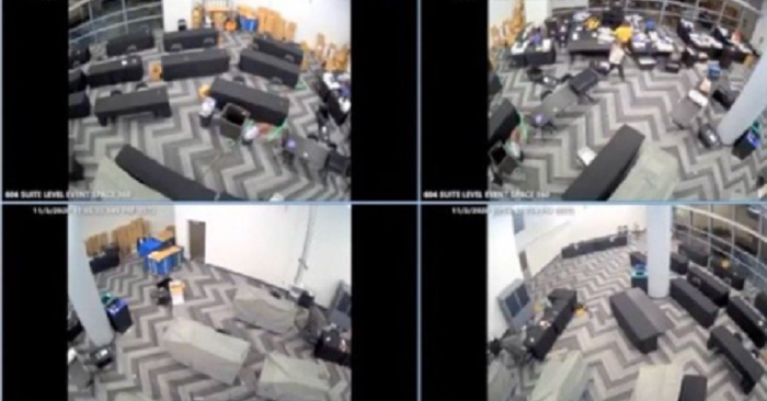 Georgia Fraud: Cameras show suitcases full of ballots appearing after observers leave
