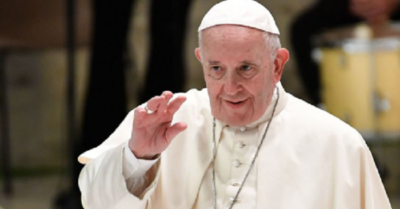 Pope Francis spreads communism by denying private property rights to Christians