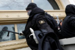 The Capitol allegedly infiltrated by antifa, resulting in at least 1 death