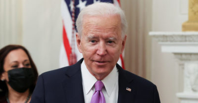 Hannity: Biden 'already begging for a break' after losing patience on his first day as president