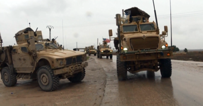 US-led military convoy strikes Syria within hours of Biden taking office