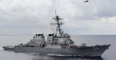 Tension in Taiwan: US destroyer enters area of conflict with Chinese Communist Party