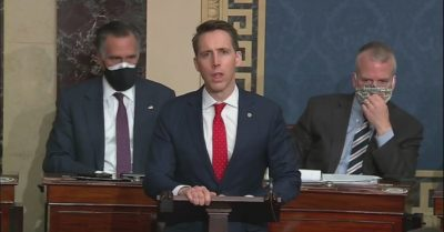Josh Hawley raises $3 million after objecting to electoral college certification