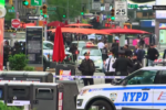 Times Square: Young mom recalls pleading for her life after being shot