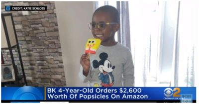 Autistic 4-year-old boy ordered over $2,600  popsicles online at Amazon