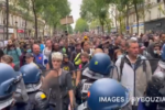 Protest against new mandatory COVID-19 vaccine measures all across France