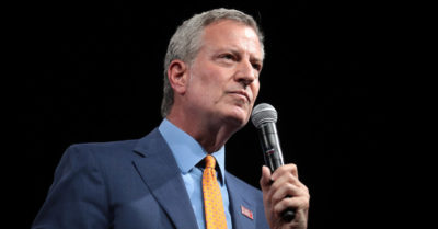 'If people want freedom' they must be vaccinated says Democratic NYC mayor De Blasio