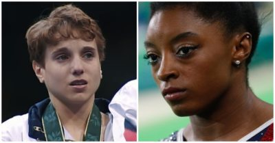 Simone Biles is compared to Kerri Strug: Heated debate after superstar gymnast's withdrawal from Tokyo Olympics