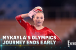 'It's Okay to Not Be Perfect' MyKayla Skinner says of the pressures of being an Olympic gymnast.