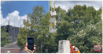 Lafayette removes Confederate general statue from city hall in Louisiana