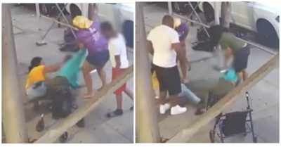 Group of 4 wanted for allegedly attacking elderly disabled woman with cooking pot