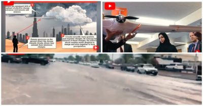 Dubai uses drones to make artificial rain to fight the extreme summer heat