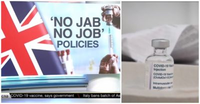UK politicians vote to mandate healthcare workers take COVID-19 vaccines as an employment condition