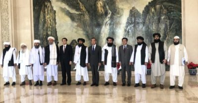 After US departure from Afghanistan, the Chinese regime meets with Taliban leaders