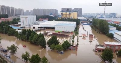 China flooding: Death toll exceeds 300