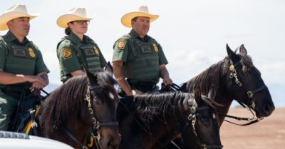 Photographer says Border Patrol agents on horses did not whip anyone