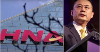 CEO of HNA Group—A US citizen, arrested as another Chinese company tumbles