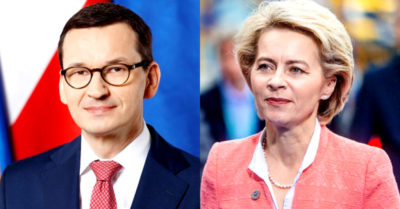Polish people 'do not believe in blackmail' strong response of the Prime Minister to the EU President
