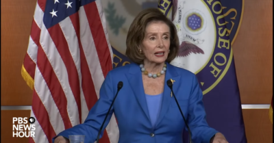 Pelosi says media 'could do a better job' of promoting Democratic economic plan
