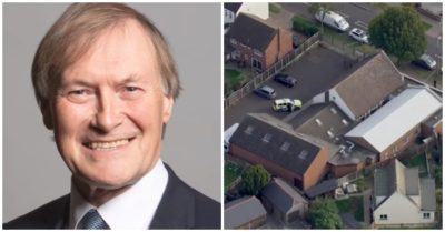British Conservative MP David Amess stabbed to death in terrorist incident