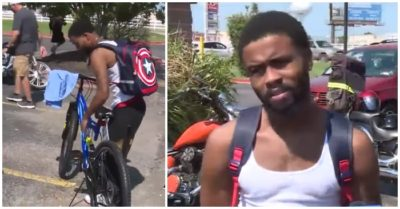 Young man's life changed by good Samaritans after seeing him walking 17 miles daily for work