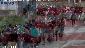 The BL news-250 immigrants turn themselves in at Port of entry