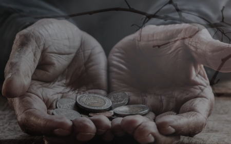 He gave his last penny to an old beggar and a surprising result...