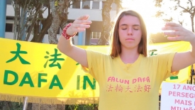 The World celebrates Falun Dafa Day!