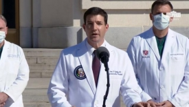 10/05/20 Dr. Sean Conley, physician to the President, provides an update on President Trump