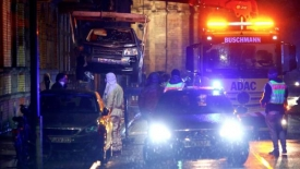 At least five killed in pedestrian zone in Germany