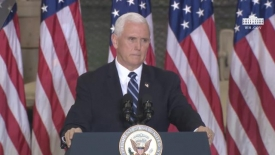 Vice President Pence delivers remarks to U.S. troops